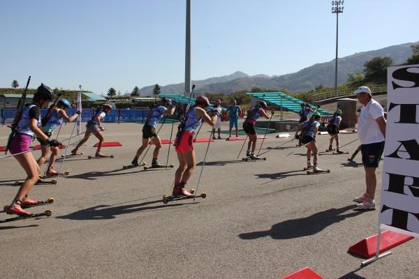 Результаты Масс-старта женщин Летнего Чемпионата РК по биатлону