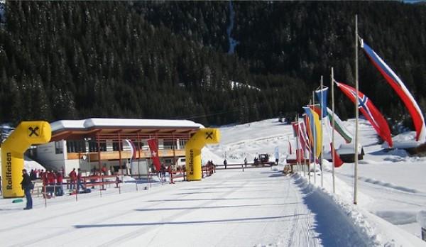 Юниоры проявили себя в Biathlon Alpen Cup в городе Обертиллиах