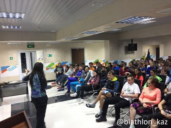 Антидопинговый семинар прошел в рамках ЧРК в Алматы