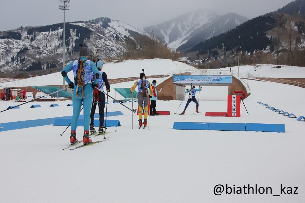 Результаты первой гонки Кубка РК по биатлону в Алматы