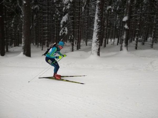 Сергей Сирик показал лучший результат среди сборной на первой гонке Кубка IBU в Арбере