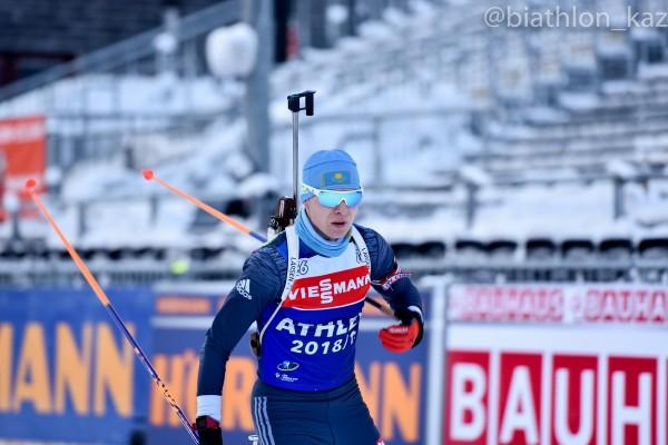 Роман Еремин стал 28м в спринте Рупольдинга
