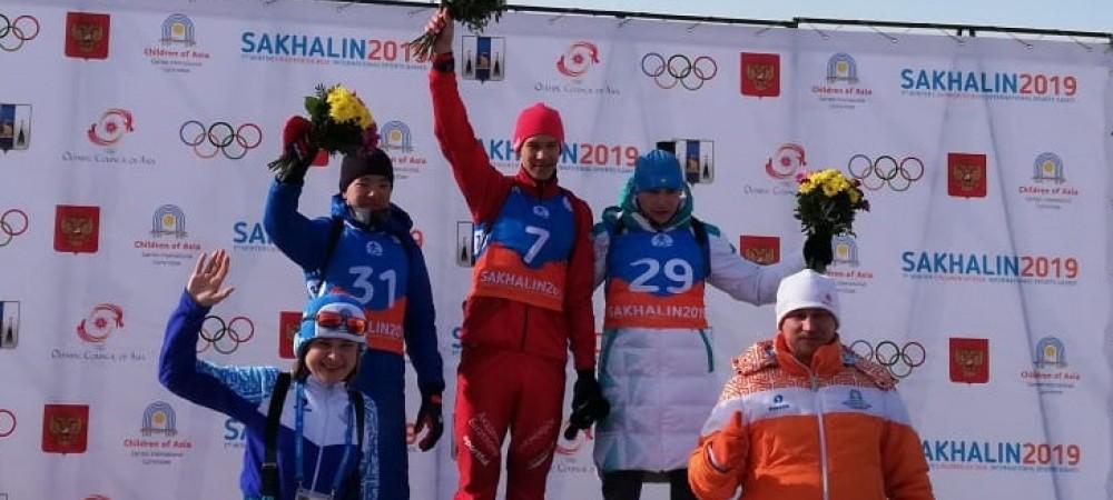Еще две медали в копилку Казахстана принесли юные биатлонисты на играх «Дети Азии»