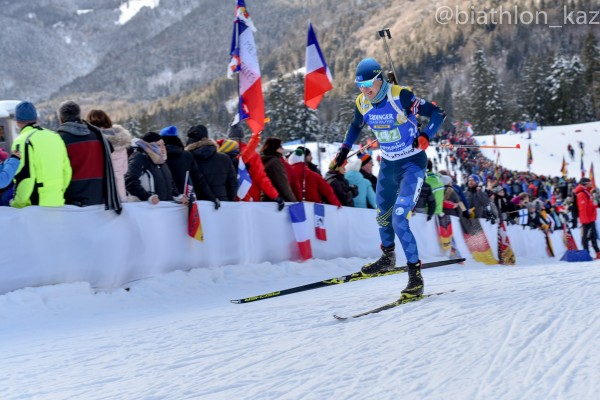 Роман Еремин отобрался на гонку преследования американского этапа Кубка Мира