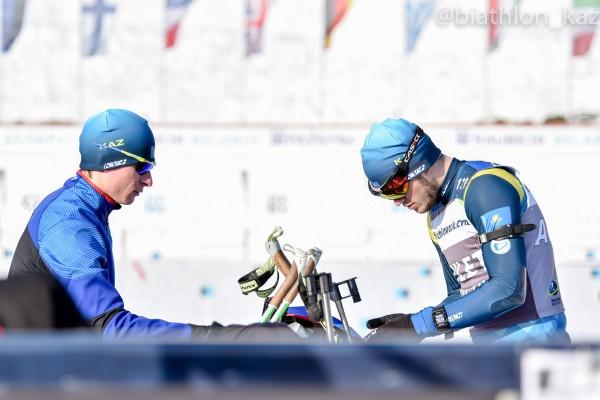 Мужчины сборной Казахстана не прошли квалификационную гонку суперспринта Кубка IBU