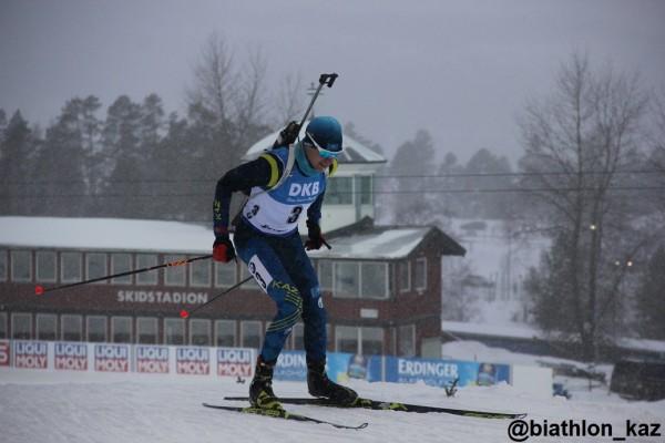 Результаты индивидуальной гонки среди мужчин Чемпионата Мира в Эстерсунде