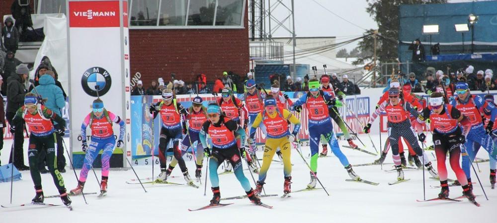 В первой женской эстафете сезона Казахстан стал 18-м