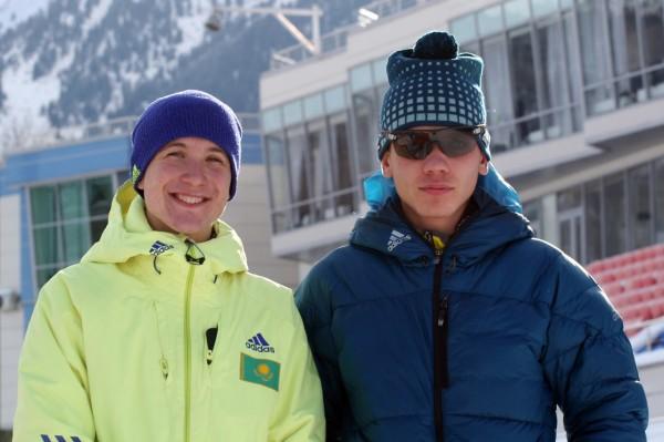Результаты спринта среди мужской половины Зимних Молодежных игр в Щучинске