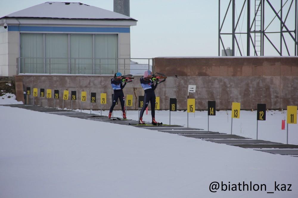 Результаты гонки преследования среди девушек и юниорок Молодежных игр в Щучинске