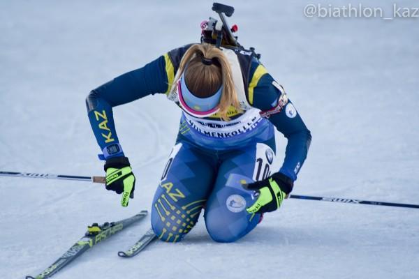 Кубок мира закончен для биатлонисток сборной Казахстана.