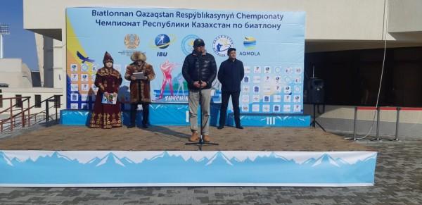 Результаты завершительной гонки Чемпионата РК по биатлону: эстафетные гонки мужчин и юниоров