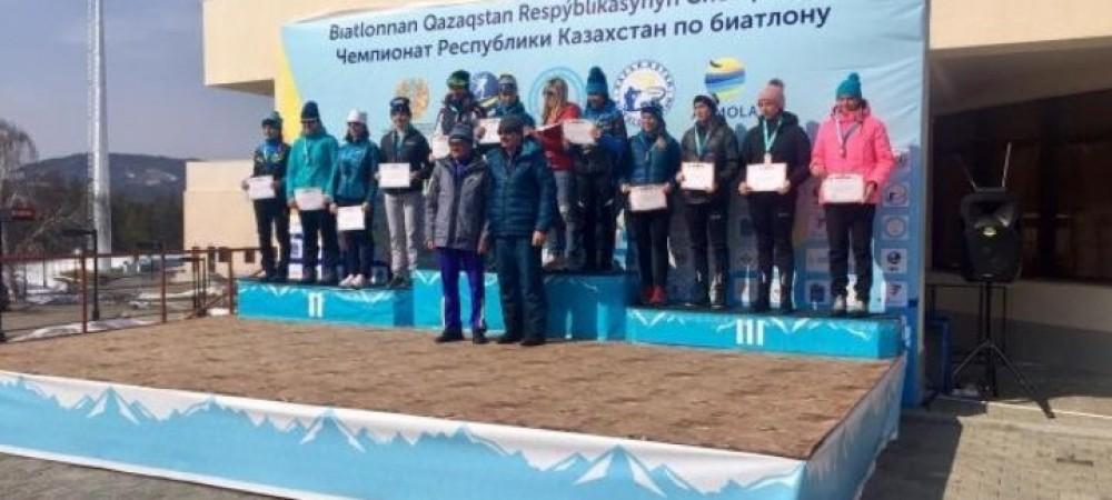 Результаты: завершительная гонка Чемпионата РК по биатлону