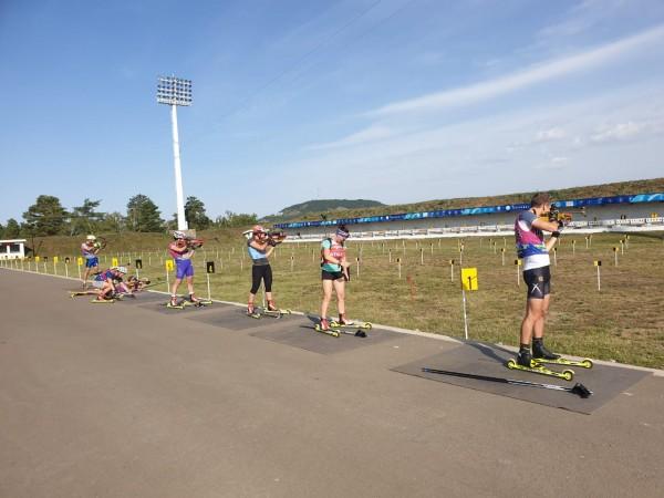 Национальная сборная РК по биатлону проводит очередные сборы в Щучинске