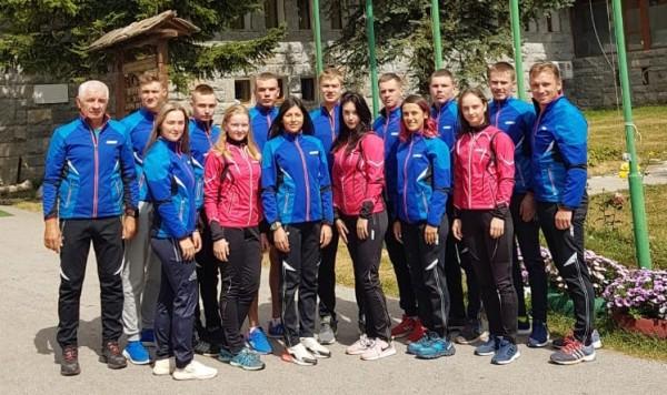 Юниорская сборная РК по биатлону проводит УТС в Болгарии