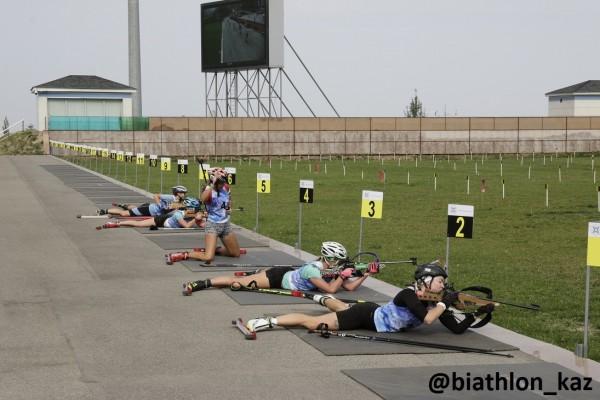 Результаты эстафетных гонок Второго этапа Чемпионата РК по летнему биатлону
