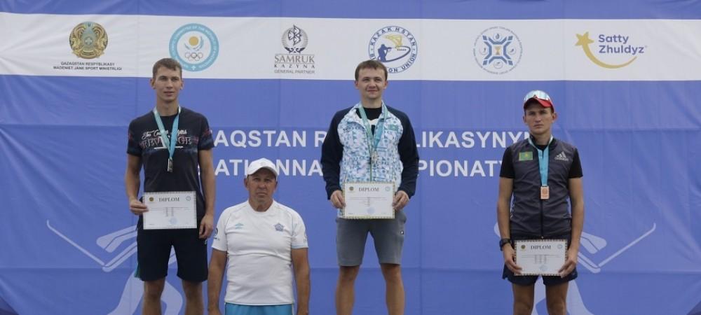 Данил Белецкий стал лучшим с масс-старте среди юниоров Летнего Чемпионата РК по биатлону