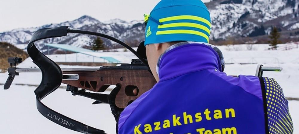 Национальная сборная РК по биатлону проводит завершительные сборы в Щучинске