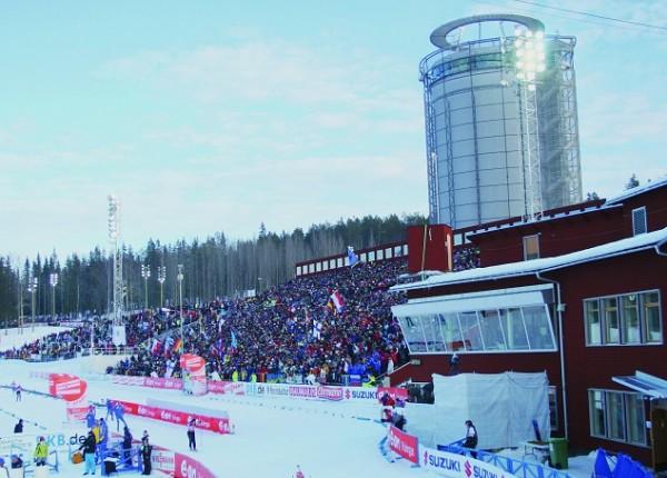 Сборная Казахстана по биатлону отправилась в Швецию