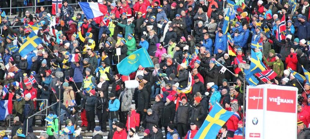 Биатлонисты сборной Казахстана в одиночной эстафете в Эстерсунде стали 14