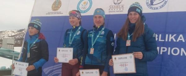 Результаты пасьюта женской половины Чемпионата РК по биатлону