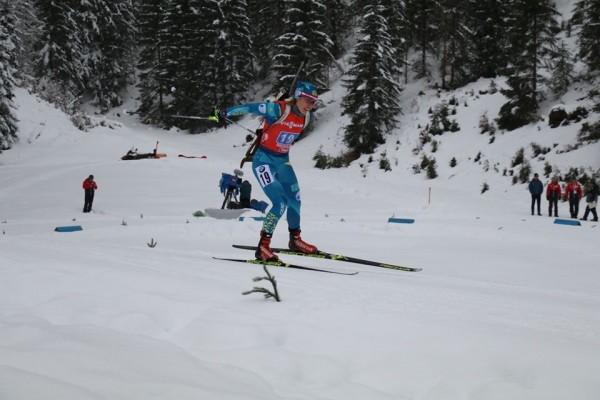 Результаты женского спринта четвертого этапа Кубка IBU