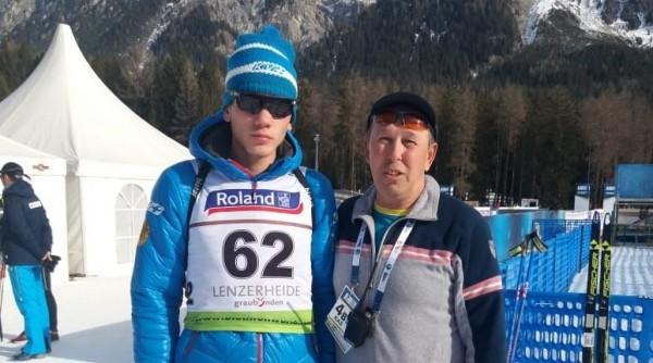 Владислав Киреев стал пятым в индивидуальной гонке среди юниоров в Ленцерхайде