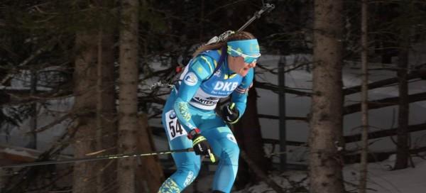 Галина Вишневская вошла в десятку лучших в индивидуальной гонке Чемпионата Мира в Антхольце