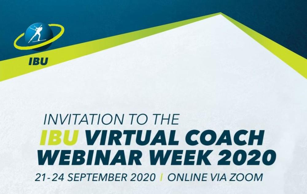 Международный союз биатлонистов (IBU), с 21 по 24 сентября будет проводить онлайн вебинар по вопросам развития молодежного и детского спорта.