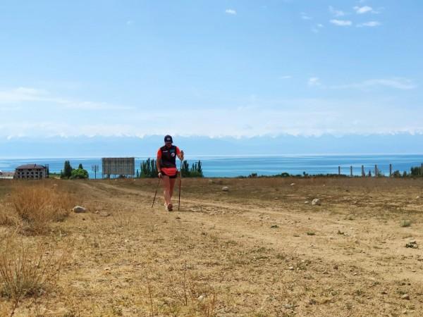 Сборы Национальной команды РК по биатлону в условиях среднегорья в Киргизии (Чолпон-Ата).